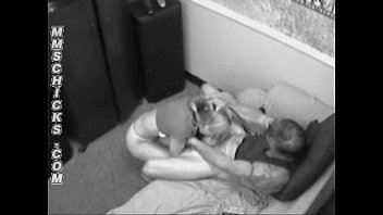 naughty babysitter caught on house cam