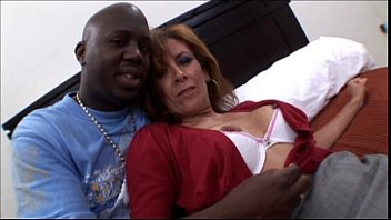 Brunette Milf With Perfect Body Gets Her Pussy Stretched By BBC While Her Husband Is Doing Business