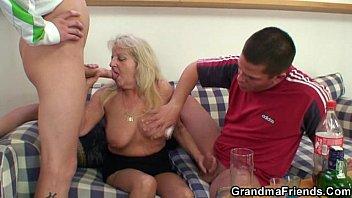 hairy pussy big tits granny fucked hard I got her at youmet.fun