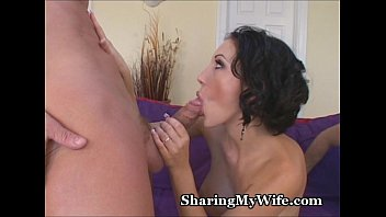 Homemade Amateur Hotwife Shared With First BBC