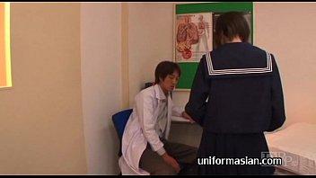 Erito - Asian Schoolgirl Takes A Full Creampie From Her Reflexologist