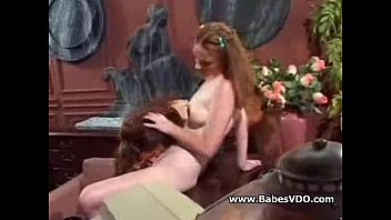 Asian Maid Becomes Human Furniture for Rich Blonde Lesbian