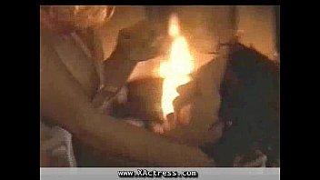 Pamela Anderson & Denise Richards Lesbian Kiss on ScandalPlanet.Com
