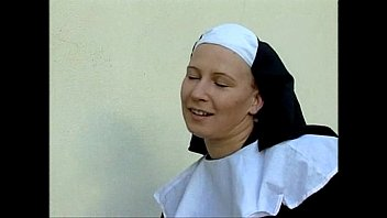 The nun could not stand it and broke the celibacy