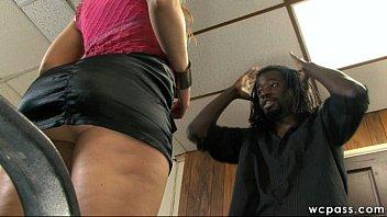 10 Inch BBC Bull for White Slut Essex Girl Lisa Deep Throat and Deep Anal